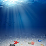 Underwater Background Stock Images