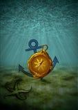 Underwater Background Royalty Free Stock Photo