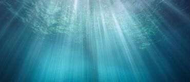 Free Underwater Background Rays Of Sunlight In The Sea Stock Photos - 205378123