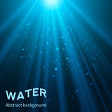 Underwater background vector illustration Royalty Free Stock Photos