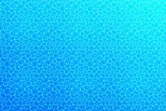 Underwater background. Water surface texture. Vector illustration with deep oceanic scene. Summer, travel, marine. Underwater background. Water surface texture stock illustration