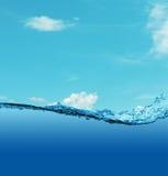 Underwater background. Stock Photography
