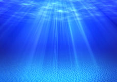 Underwater backgrounds Stock Photography