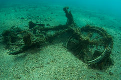 Underwater Bicycle Royalty Free Stock Photo