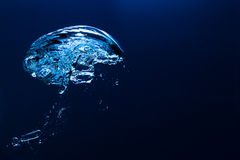 Underwater bubble Royalty Free Stock Photo