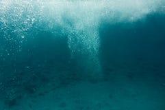 Underwater bubbles Stock Image