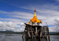 The underwater Buddhist church Stock Images