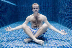 Underwater Calm Royalty Free Stock Photography