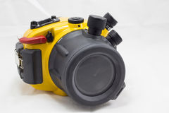 Underwater camera housing Royalty Free Stock Images