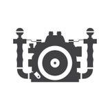 Underwater Camera Vector Icon Royalty Free Stock Photos