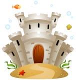 Underwater Castle Stock Photography