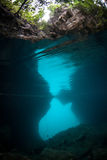 Underwater Cavern Stock Images