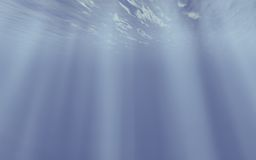 Underwater concept Stock Photography