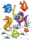Underwater creatures Royalty Free Stock Photo