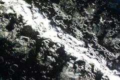 Underwater di salto dell'aria Fotografia Stock Libera da Diritti