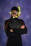 Underwater diver Stock Photos