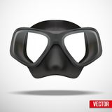 Underwater diving scuba mask vector Stock Photo