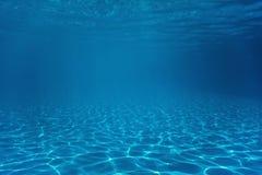 Underwater Empty Swimming Pool stock photo