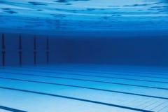 Underwater Empty Swimming Pool. stock photos