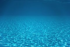 Underwater Empty Swimming Pool royalty free stock photography