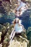 Underwater fairy tale royalty free stock images