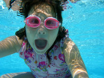 Underwater Fun Stock Image