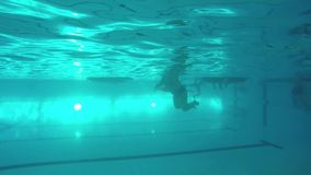 Underwater fun stock video