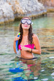 Underwater fun Royalty Free Stock Images