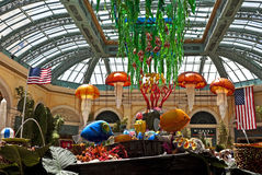 Underwater garden, Bellagio, Las Vegas Stock Photography