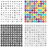 100 underwater icons set vector variant. 100 underwater icons set vector in 4 variant for any web design isolated on white Stock Photo
