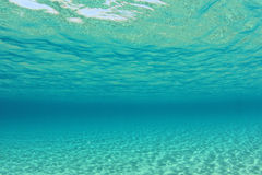 Underwater Background Stock Image
