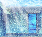 Free Underwater Interior Stock Photography - 28697672