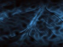 Underwater leaf. Background textured by deep blue underwater leaf royalty free illustration