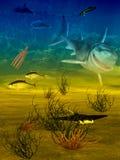 Underwater life Stock Images