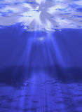 Underwater Light Royalty Free Stock Photos