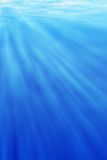 Underwater light Royalty Free Stock Photography