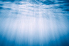 Underwater Light Rays Stock Photography