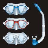 Underwater Masks Stock Images
