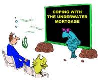 Underwater Mortgage Stock Photos
