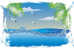 Underwater nature wallpaper Royalty Free Stock Photo
