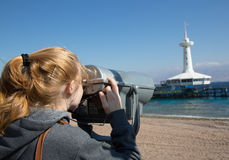 Underwater observatory in Eilat Royalty Free Stock Image