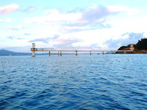 Underwater Observatory. Is located in Busena Marine Park near Busena Cape at Okinawa Stock Images