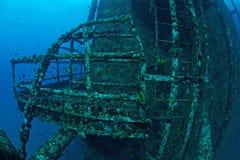 Underwater oil rig Stock Photos