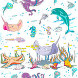 Underwater pattern Stock Images