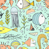Underwater Pattern Royalty Free Stock Photos