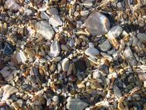 Underwater pebble texture Royalty Free Stock Photo