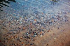 Underwater pebbles Stock Photography