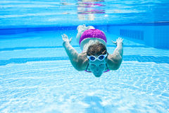 Underwater in pool Stock Photography