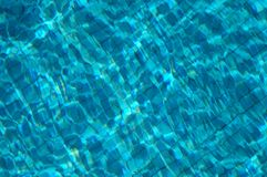 Underwater Pool Tiles. Tiles underwater in a swimming pool Royalty Free Stock Photography