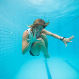 Underwater in a pool Royalty Free Stock Photo
